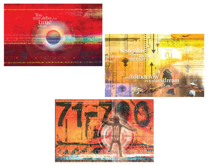 Y2K calendar pages