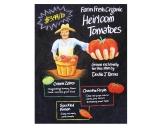 Heirloom tomatoes sign