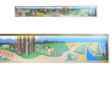 Native Foods Cafe mural, right side