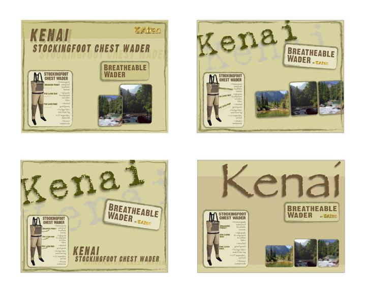 Kenai wader box